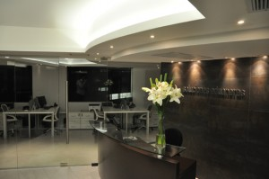 Diseño de iluminación Oficina