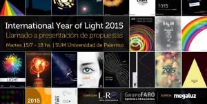 IYL2015 Lanzamiento del concurso de ideas y proyectos de luz